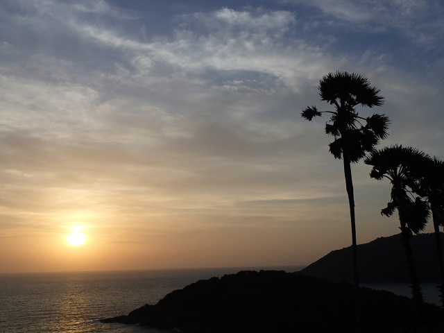 Sunset at Phromthep Cape
