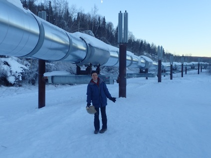 Famous Trans-Alaskan Pipeline
